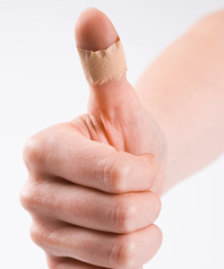 thumbs up for news advancements ways to test blood glucose without pricking your finger
