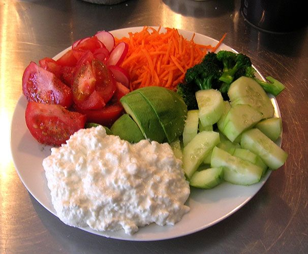Cottage Cheese Vegetables