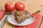 Applesauce Oatmeal Coffee Cake