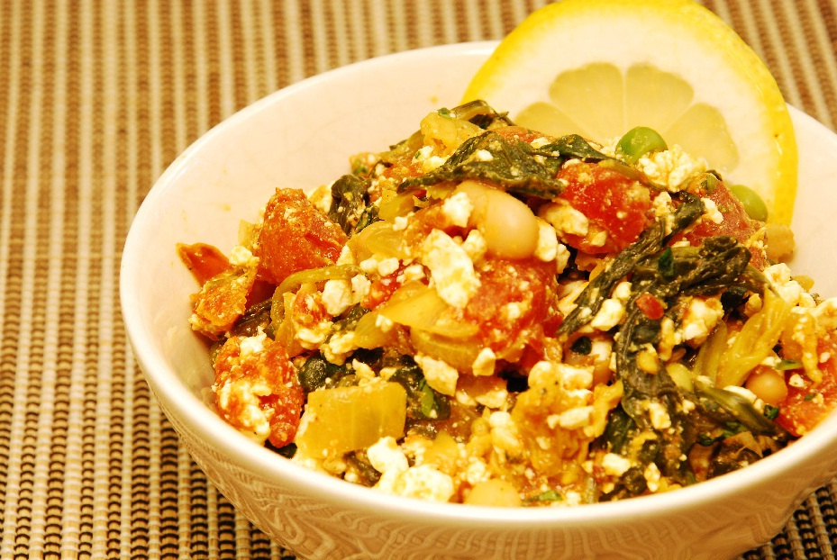 Mixed Vegetable Curry with Cheese (Paneer Bhurji)