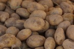 New Potatoes with Olive Oil & Garlic