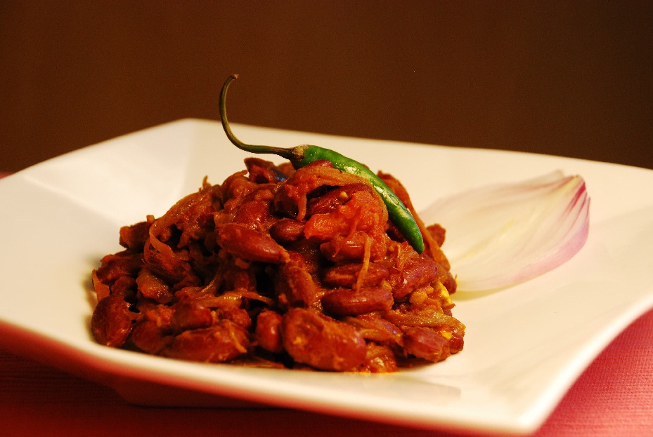 Red Kidney Bean Curry (Rajma)
