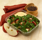 Red, White & Bleu Spinach Salad