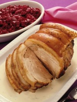 Roast Pork with Cabbage and Carrots
