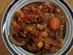 Turkey, Black Beans, and Vegetable Chili